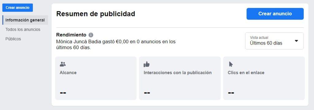 campaña publicidad facebook