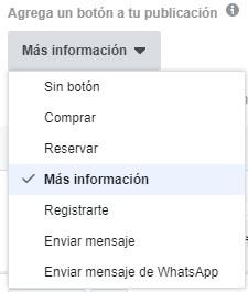 boton publicacion facebook